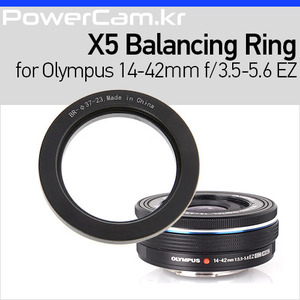 [파워캠]젠뮤즈 X5 밸런싱 링 올림푸스 14-42mm f/3.5-5.6 EZ [Zenmuse X5 - Balancing Ring for Olympus 14-42mm f/3.5-5.6 EZ]