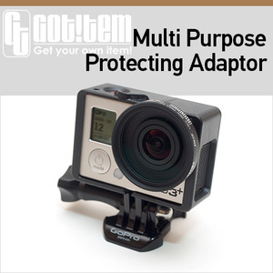[파워캠] 고프로 HERO4 / HERO3+ / HERO3 다목적 프로텍팅 어댑터 [Multi Purpose Protecting Adaptor for GoPro HERO-3]